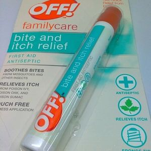 Johnson off bite and it h relief antiseptic